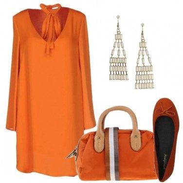 Outfit Arancio come il sole