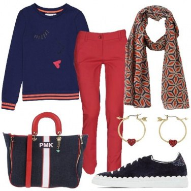 Outfit Come una teen ager innamorata