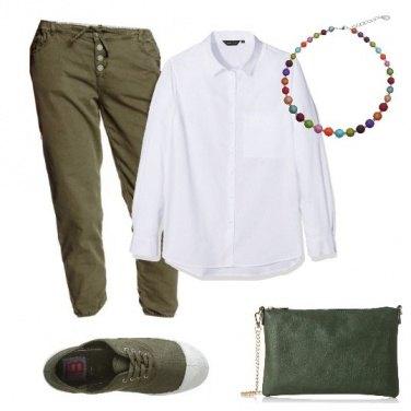 Outfit Verde come le foglie