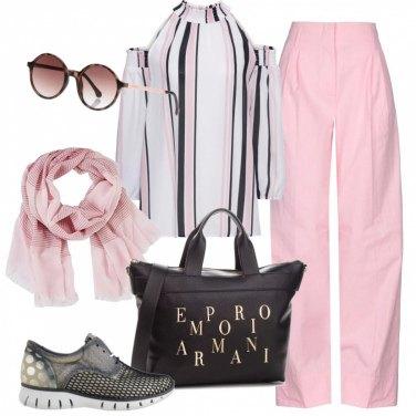 25b88df4cf Outfit Il rosa che illumina