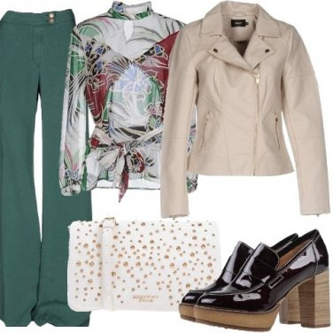 Outfit Tendenze in verde