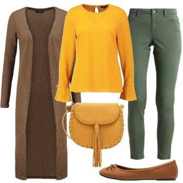 Outfit Il colore dei narcisi