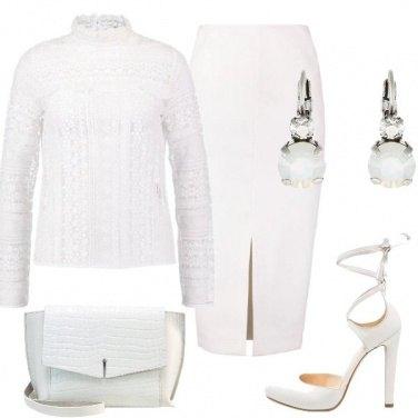 Outfit Una cerimonia in bianco