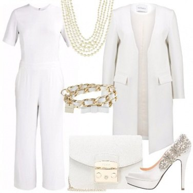 Outfit Bianca eleganza