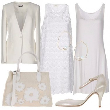 Outfit Pizzo e giacca