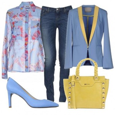 Outfit Trasparenze e colore