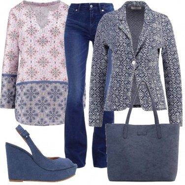 Outfit La tunica floreale