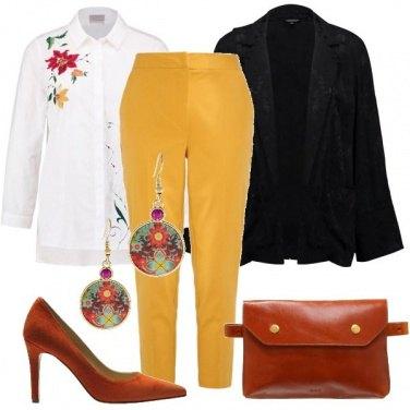 Outfit La borsa alla cintura
