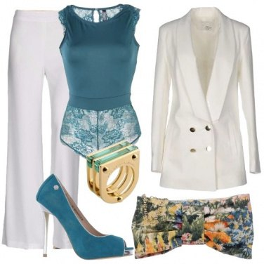 Outfit Schiena in trasparenza