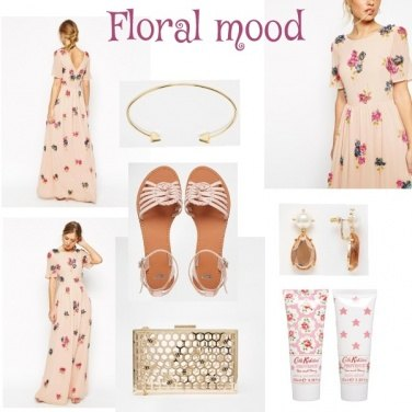 Outfit Floral Mood