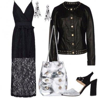 Outfit Nero come la notte