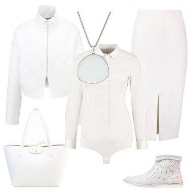 Outfit Rigorosamente in bianco