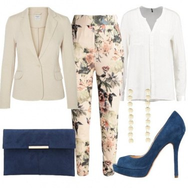 Outfit Pantalone floreale