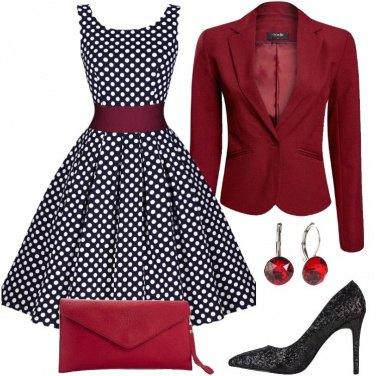 Outfit Rossa come un tulipano