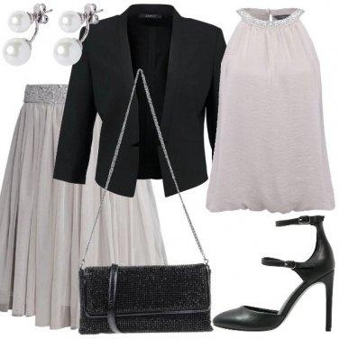 Outfit Dama d\'argento