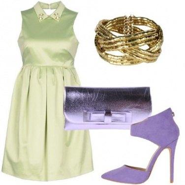 Outfit Come una violetta