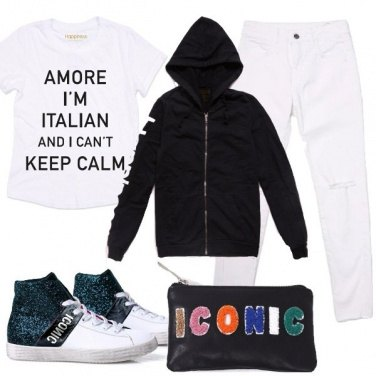 Outfit Uno stile nuovo