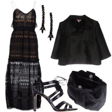 Outfit Eleganti trasparenze
