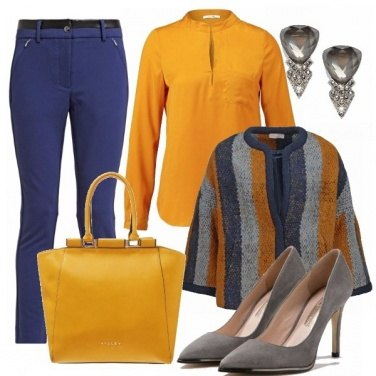 Outfit Blue and yellow