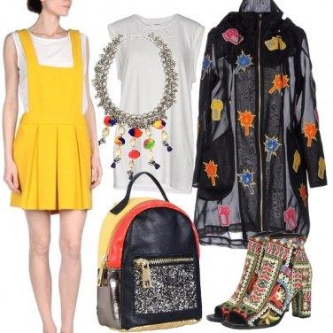 Outfit Colori e trasparenze