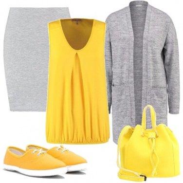 Outfit Sole e nuvole