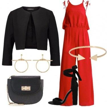 Outfit La tuta rossa