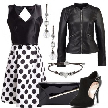 Outfit Party a pois