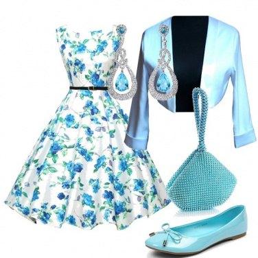 Outfit Fiori d\'acqua