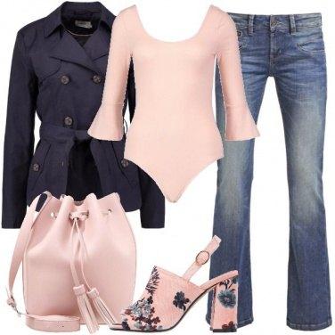 Outfit Sandali a fiori
