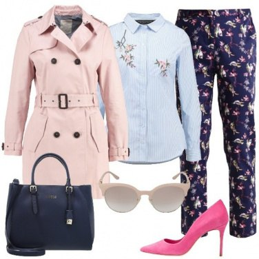 Outfit Mix and match floreale
