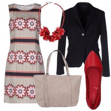 Outfit Collana di fiori