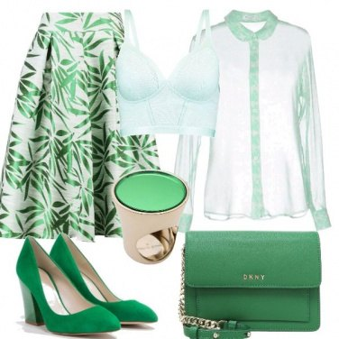 Outfit Verde foresta