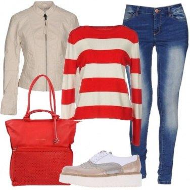 Outfit Primavera in rosso