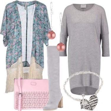 Outfit Stivali a primavera