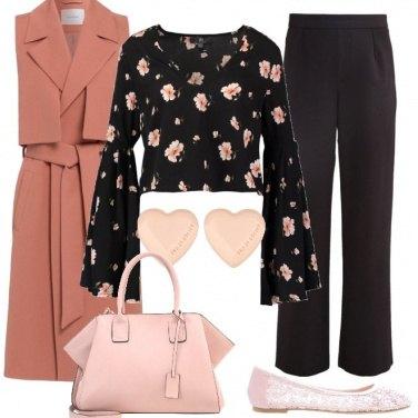 Outfit Fiori a cuori