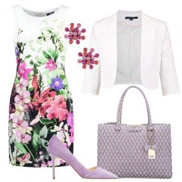 Outfit La primavera in un vestito