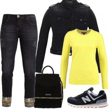 Outfit Mi sento gialla