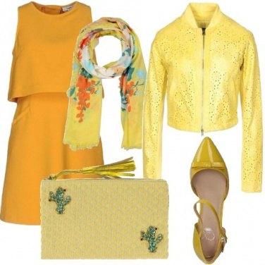 Outfit Il giallo che fa primavera