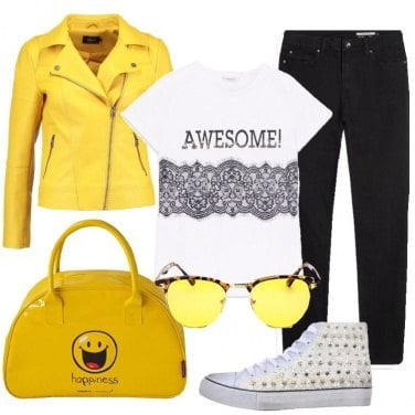 Outfit L\'energia del giallo