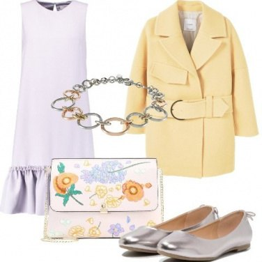 Outfit Chic in lilla