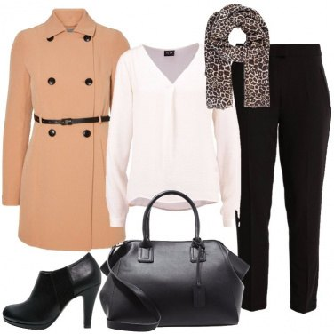 Outfit Il trench primaverile