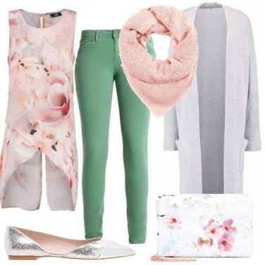 Outfit La primavera nella camicetta
