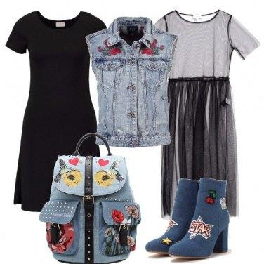 Outfit Il jeans è di stagione