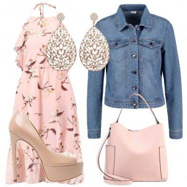 Outfit Fiori nel rosa