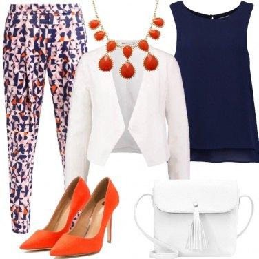 Outfit Tocchi di arancione
