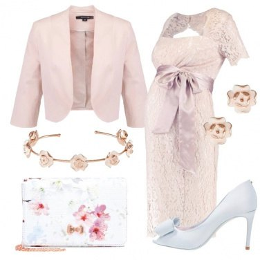 Outfit Mammina romantica