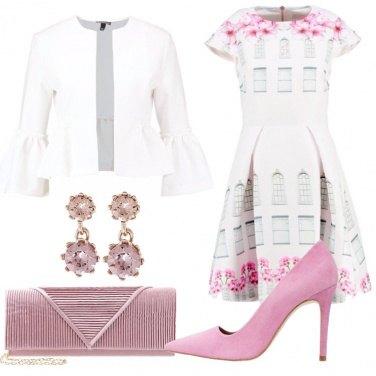 Outfit Romanticamente in primavera