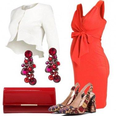 Outfit Una mamma in rosso