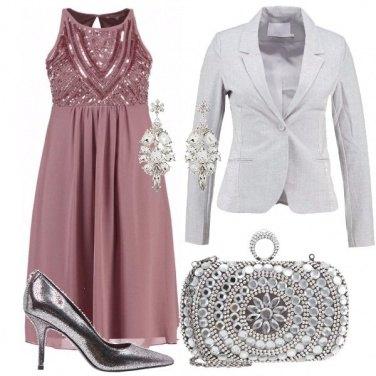 Outfit Futura mamma scintillante