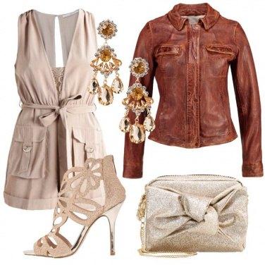Outfit Tutina e tacchi a spillo